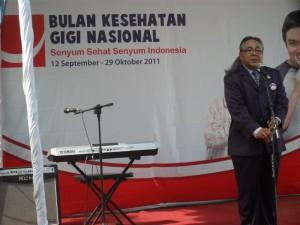Prof. Drg. Mansyur Nasir, Ph.D, Dekan Fakultas Kedokteran Gigi Unhas
