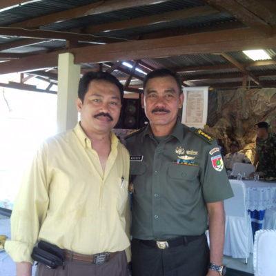 Kapendam 7/WB, Kolonel TNI S. Agusto