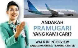 Garuda Indonesia Butuh Pramugari