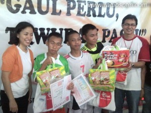SMP Negeri 13 Makassar Borong Gelar Juara Futsal Teen Voice