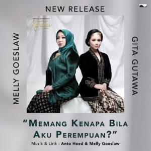 Melly Gandeng Gita Gutawa Nyanyikan OST Kartini